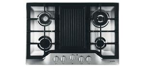 gas cooktop / dual-fuel / 4 burners