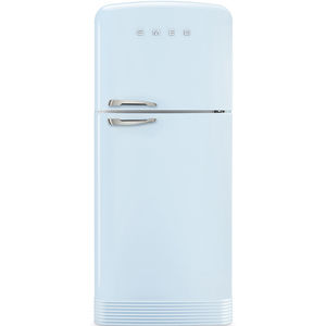 top freezer refrigerator-freezer / residential / double door / colored