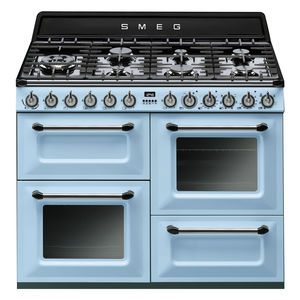 gas range cooker / electric / dual-fuel / cast iron