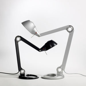 desk lamp / contemporary / aluminum / compact fluorescent