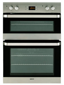 electric oven / built-in / 2-chamber