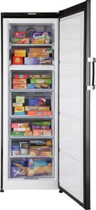 upright freezer / black