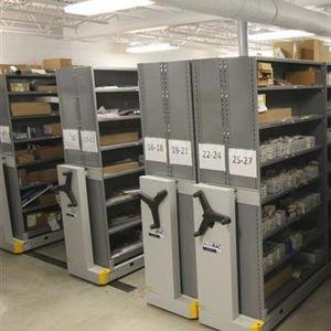 storage mobile shelving