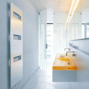 electric towel radiator / steel / stainless steel / aluminum