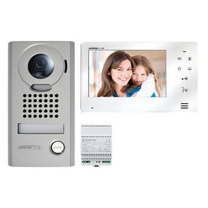 metal video intercom system