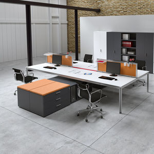 desk mounted office divider
