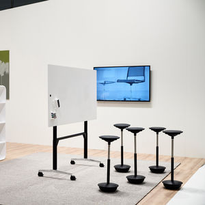 adjustable-height work table