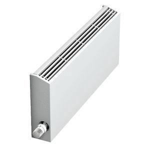 hot water convector / metal / contemporary / low-temperature