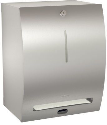 Wall Mounted Paper Towel Dispenser Stainless Steel