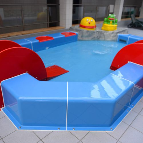 above-ground swimming pool / plastic / for water parks / child's
