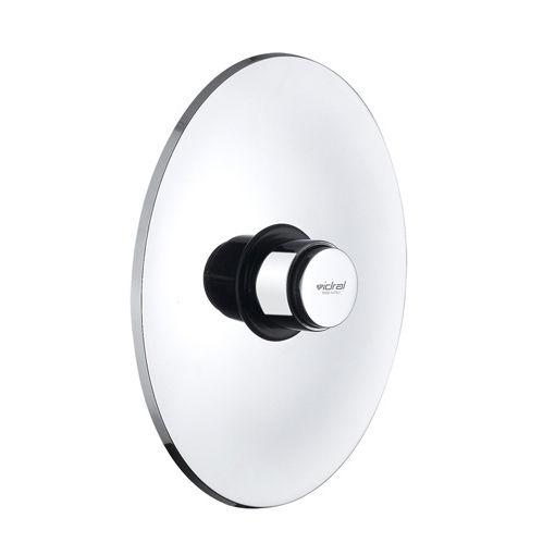 self-closing toilet flush