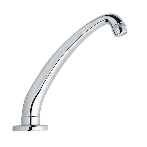 metal washbasin spout