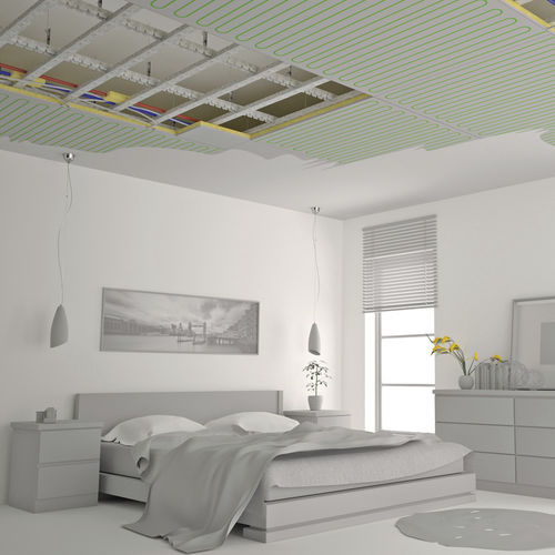 ceiling-mounted radiant panel
