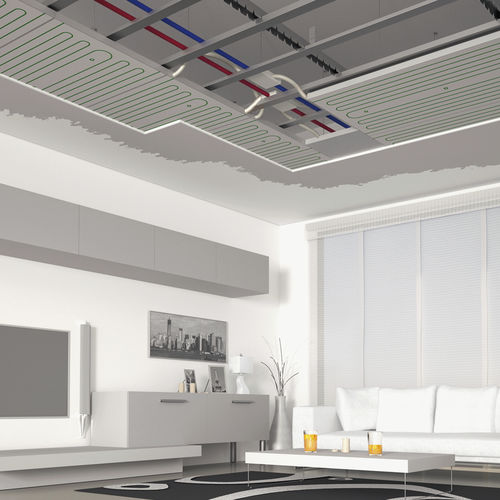 plaster suspended ceiling