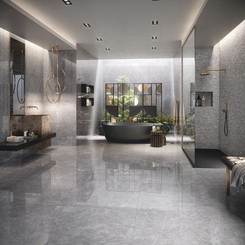 indoor tile / wall / porcelain / glazed ceramic