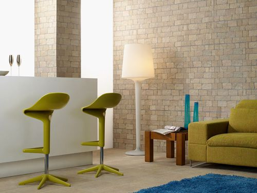 indoor tile / living room / wall / porcelain stoneware