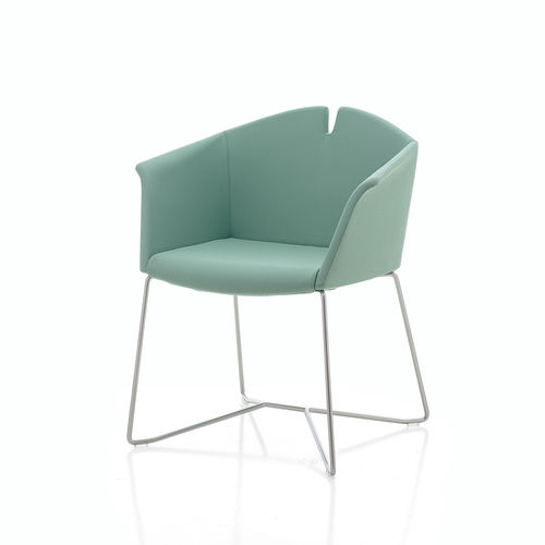 contemporary visitor chair - KASTEL srl
