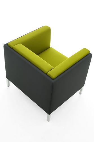 contemporary visitor armchair - KASTEL srl