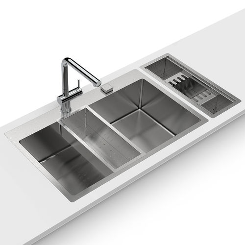 single-bowl kitchen sink