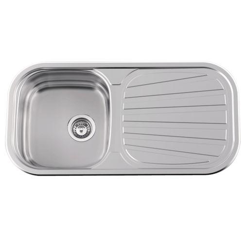 single-bowl kitchen sink