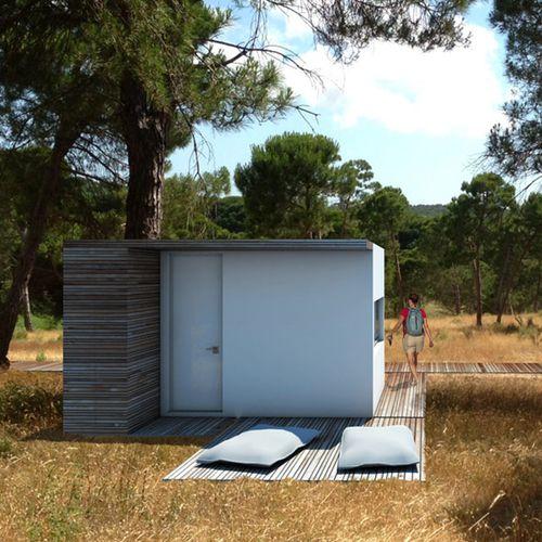 modular house / prefab / bungalow type / contemporary