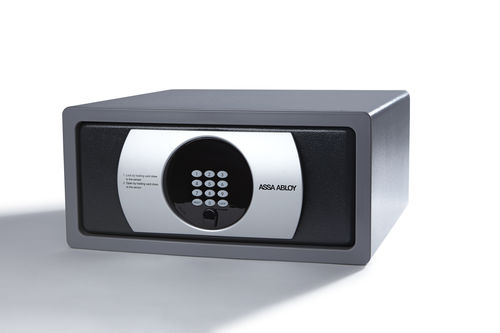 electronic safe / built-in / for hotel rooms