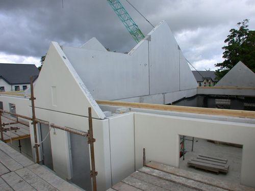 precast pediment