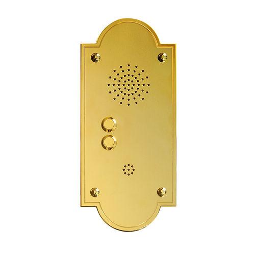 brass door station