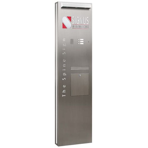 metal door intercom system