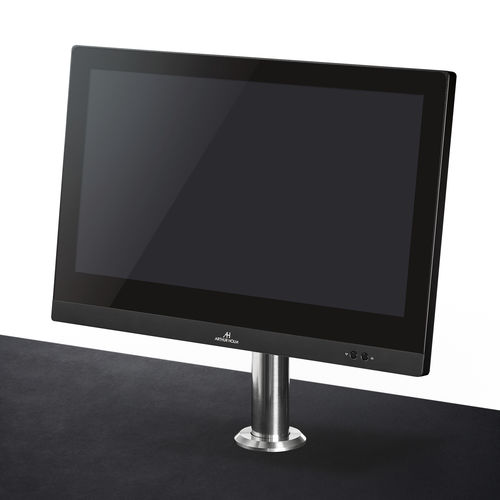 conference table touch screen / countertop / motorized