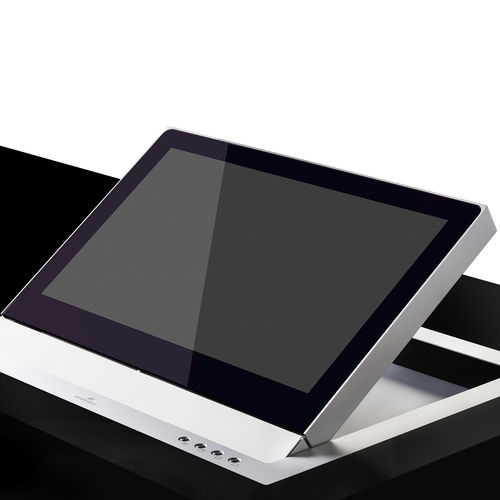 conference table touch screen / wall-mounted / folding