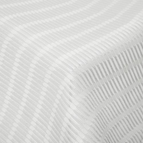curtain fabric / geometric pattern / Trevira CS® / transparent