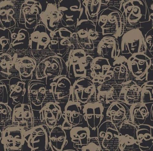 contemporary wallpaper - Equipo DRT