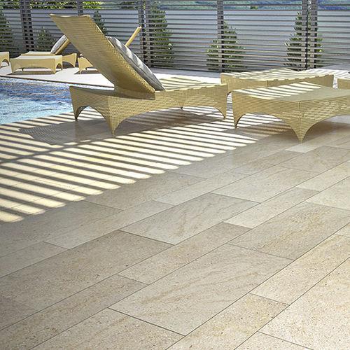 sandstone paving slab / anti-slip / poolside / outdoor