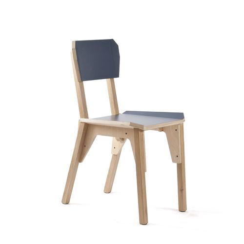 contemporary restaurant chair - VIJ5