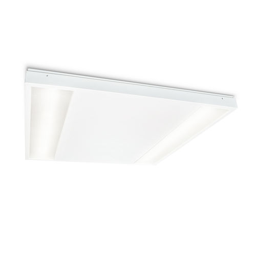 surface-mounted light fixture / LED / linear / square