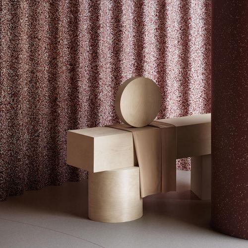 vinyl wallcovering / commercial / textured / terrazzo look