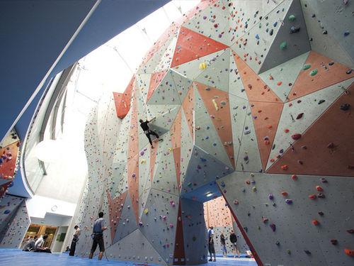 fixed climbing wall