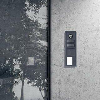 modular door station / with camera / metal