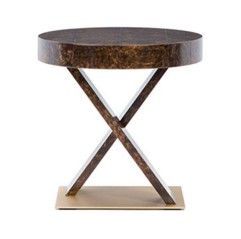 contemporary bedside table / oak / maple / mahogany