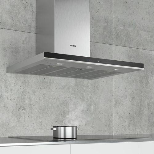 wall-mounted range hood / low-noise