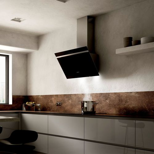 wall-mounted range hood