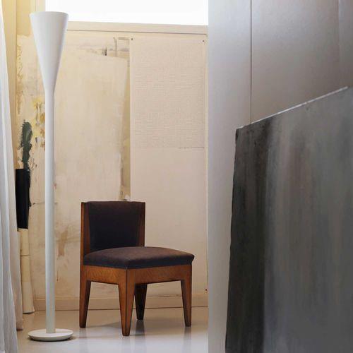 floor-standing lamp / contemporary / metal / technopolymer