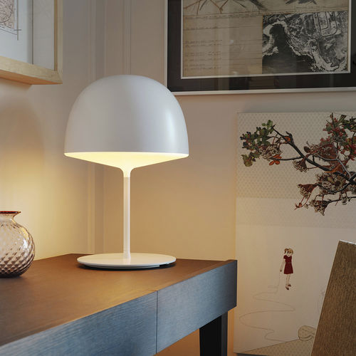 table lamp / contemporary / metal / polycarbonate