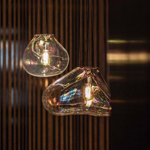 pendant lamp / original design / blown glass / halogen