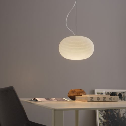 pendant lamp / contemporary / blown glass / dimmable
