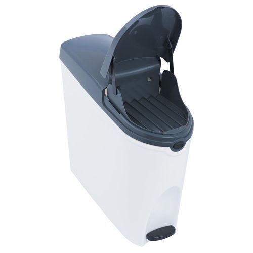 hygienic trash can / plastic / contemporary
