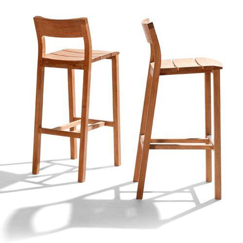 contemporary bar chair - TRIBÙ