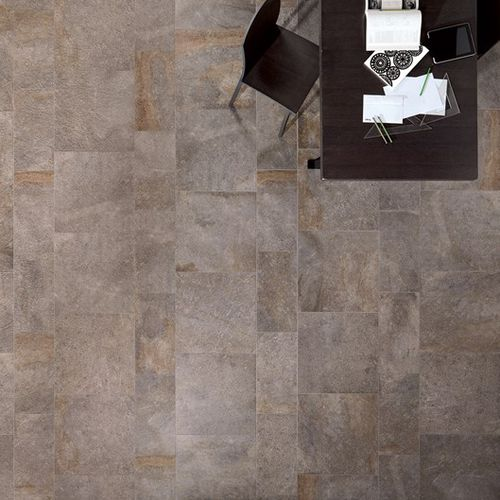 outdoor tile / for floors / porcelain stoneware / matte