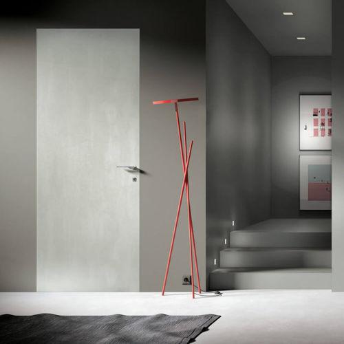 indoor door / swing / wooden / flush